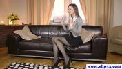 Nonton Film Bokep Classy euro beauty rips stockings for fuck